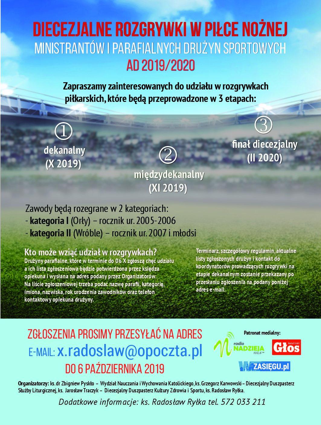 Diecezjalne rozgrywki w piłce nożnej